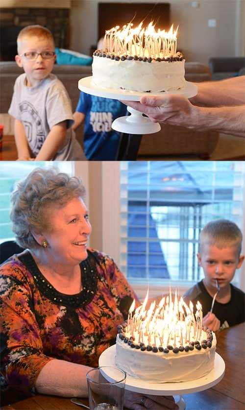 Lemon Blueberry Cake with Carol