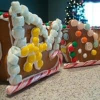 Gingerbread Sled