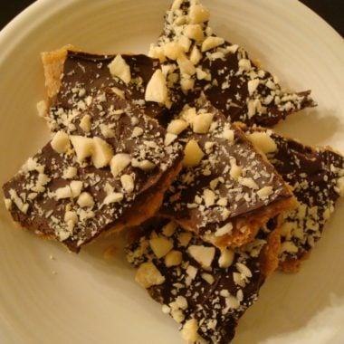 Mock Chocolate Macadamia Toffee Mel S Kitchen Cafe