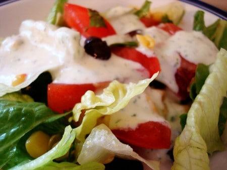 Creamy Cilantro Lime Salad Dressing