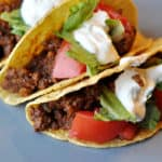 The Best Ground Beef Tacos