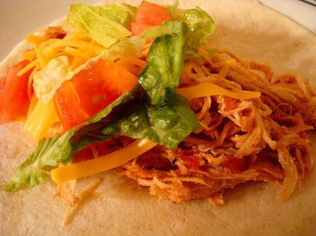 Sweet and Spicy Slow-Cooker Chicken