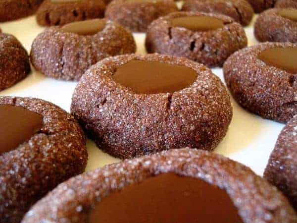 Chocolate Thumbprints