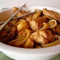 Moo Shu Noodles
