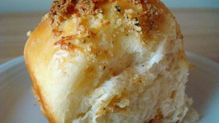 Cheese Rolls with Buttery Parmesan Crust