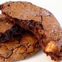 Chocolate Toffee Cookies