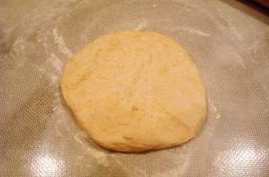 unbaked bread dough