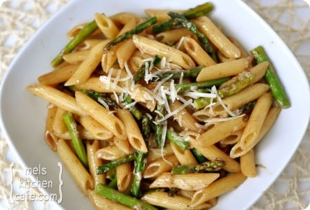 Penne / Roasted Asparagus / Balsamic Butter - Groneman Family Recipes