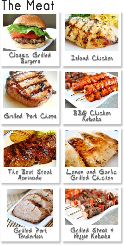 Summer BBQ Meat Ideas
