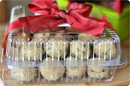 give cookie dough as gifts