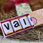 DIY Valentine Chocolate Boxes