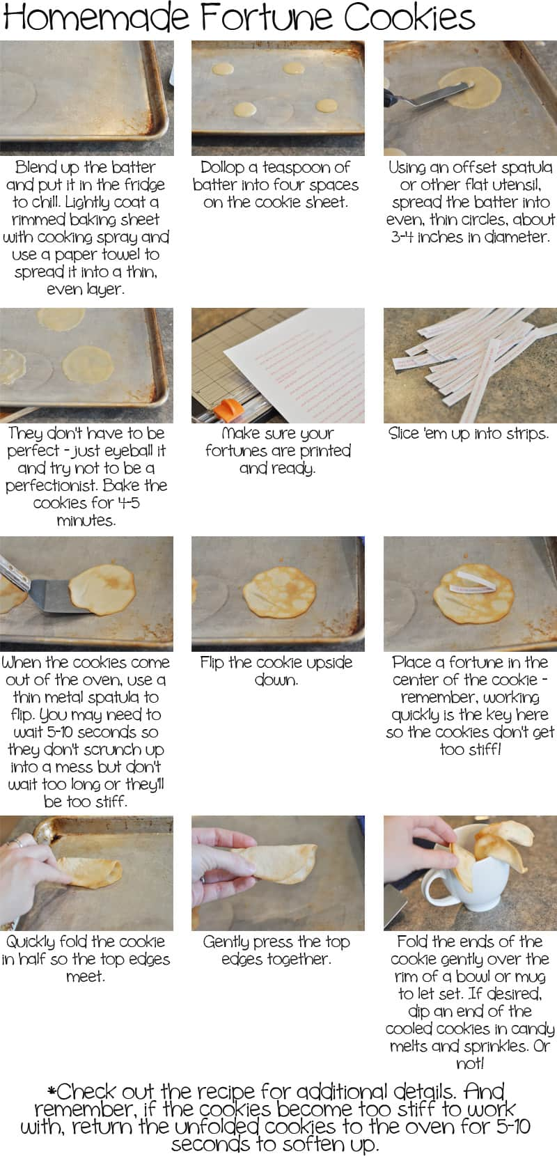 Homemade Fortune Cookies - Mel\'s Kitchen Cafe