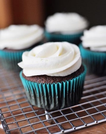 Perfect Chocolate Cupcakes