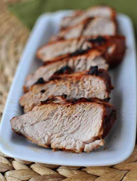 Succulent Grilled Pork Tenderloin