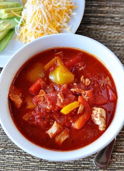 Red Chicken Chili