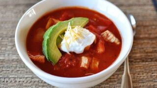 Red Chicken Chili