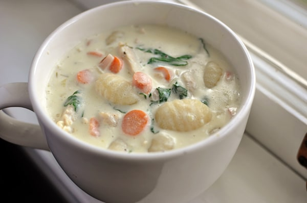 Hearty Chicken and Gnocchi Soup