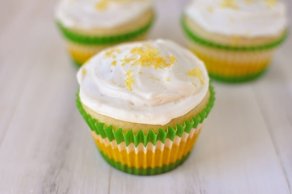 Perfect Lemon Cupcakes