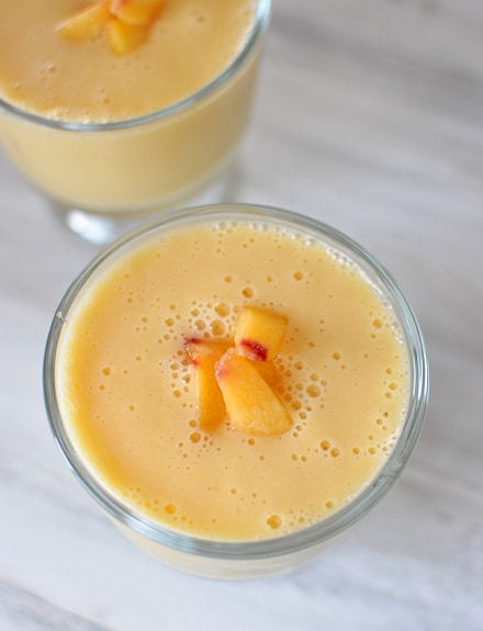 Peach-Orange Smoothie