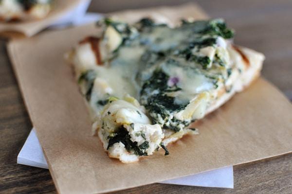 Spinach Artichoke Pizza