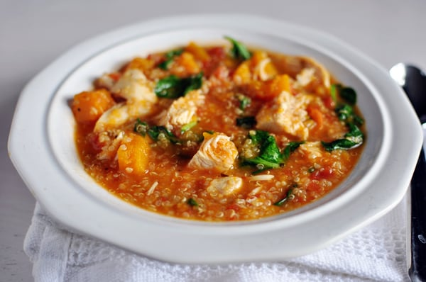 Chicken and Butternut Squash Quinoa Stew
