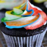 Tie-Dye Frosting for Cupcakes {a How-To}