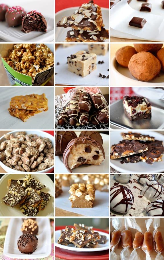 melskitchencafecom christmas candy collage 18 recipes in one place