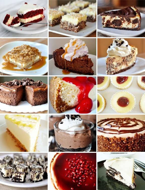 melskitchencafe.com: Cheesecake Collage!