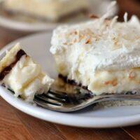 Chocolate and Coconut Cream Pie Bars