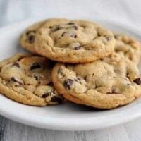 Chocolate Chip Peanut Butter and Oatmeal Cookies