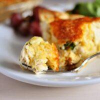 Cheesy Chicken Quesadilla Pie