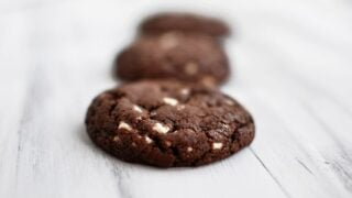 White Chipper Chocolate Cookies