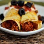 Taco Cornmeal Enchiladas