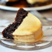 Chocolate Flan Cake {i.e. Magic Chocoflan!}