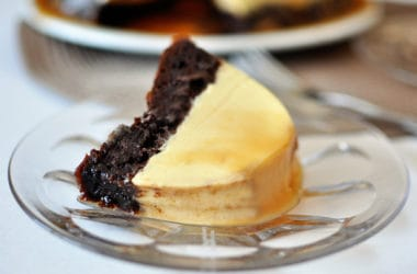 Magic Chocolate Flan Cake