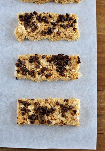 Chewy Homemade Granola Bars