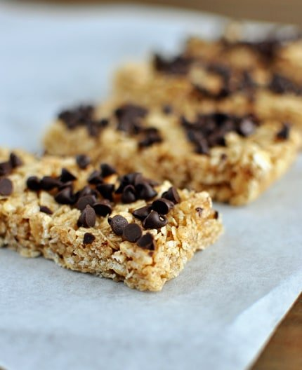 Chewy Homemade Granola Bars