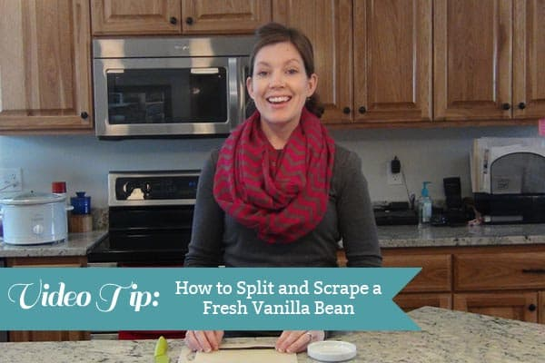 How to Split and Scrape a Fresh Vanilla Bean