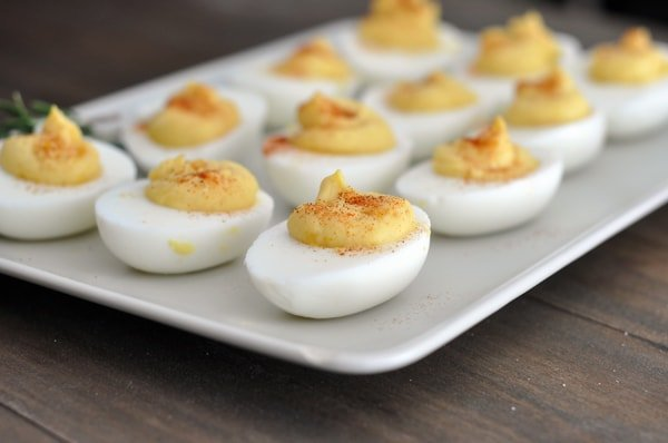 print classic deviled eggs yield makes 12 deviled eggs the