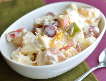 Creamy 5-Cup Fruit Salad