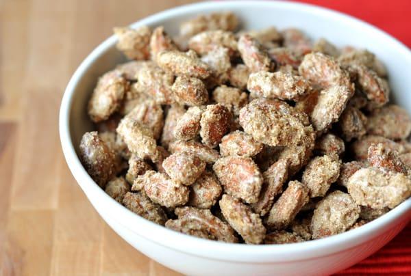 Candied Cinnamon & Sugar Almonds