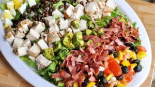 Southwestern Cobb Salad with Green Goddess Dressing