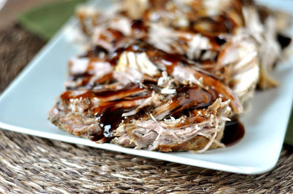 Sweet Balsamic Glazed Pork Loin