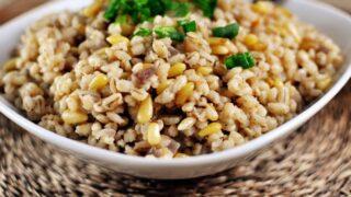 Simple Barley Pilaf