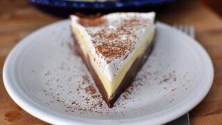 Black Bottom Pudding Pie