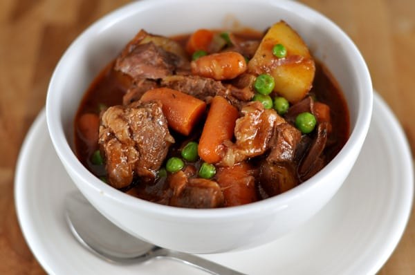 Hearty Beef Stew {Slow Cooker} | Mel's Kitchen Cafe