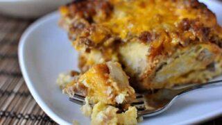 Make-Ahead Sausage and Egg Breakfast Bake