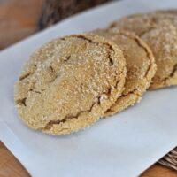 Brown Sugar Crackle Cookies