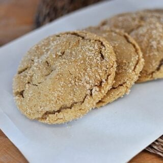 Brown Sugar Crackel Cookies
