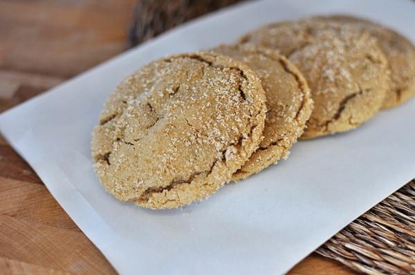 Brown Sugar Crackel Cookies